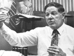 Former MDCC president Robert McCabe, circa 1980