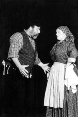 Actors' Playhouse artistic director David Arisco plays  Tevye and gets excellent support from Margot  Moreland as his wife Golde