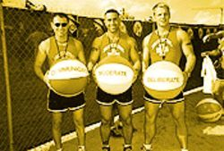 Muscle Beach was a party with a purpose  --  and pecs