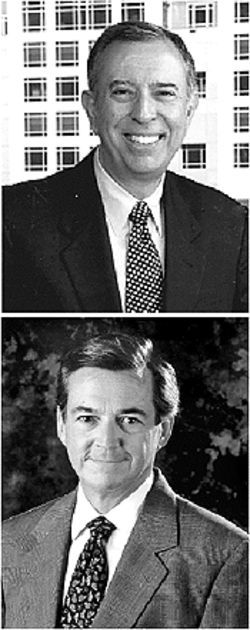 President Modesto Maidique (top), the architect of FIU&#039;s success, before the election; Armando Codina (above), former Bush business partner
