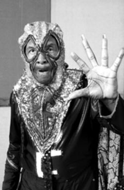 Mild-mannered Clarence Reid transforms into the super-freaky Blowfly