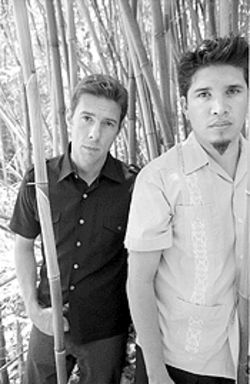 Rob Garza (left) and Eric Hilton of Thievery Corporation