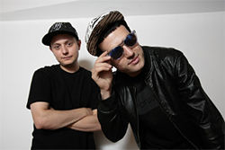 Nick Catchdubs (left) and A-Trak founded Fool's Gold