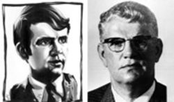 FBI agent Dan Mitrione, Jr. (left) joined the agency to  avenge his father's death after Mitrione, Sr. (right) was  kidnapped and murdered in Uruguay
