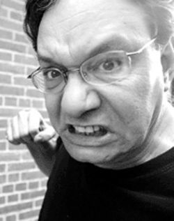 Talk to the hand: But listen to mild-mannered Lewis Black