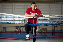 "Orlando Cruz: Professional boxer and ""proud Puerto Rican gay man."""