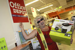 Shelley Novak's old stomping ground, Salvation nightclub, is now an Office Depot.