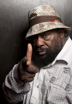 Gnarly funk grandaddy George Clinton.