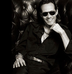 It's all about democracy and salsa for Marc Anthony.
