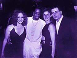 "Happier times: Jennifer Lopez, Sean ""Puffy"" Combs, Ingrid Casares, and Chris Paciello before the club king's fall"