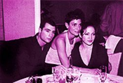 Paciello, partner Casares, and actress Jennifer Lopez dine out in better times