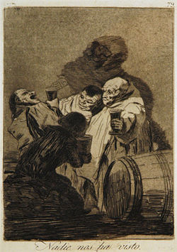 Nadie Nos Ha Visto: Goya takes no prisoners