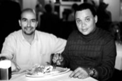 Moshe Petel (left) and Spurgeon Solomon: Cuisine as lean and 