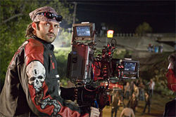 Robert Rodriguez, on the lookout for zombies