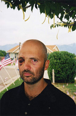 Staff Sgt. Layne Morris, of Salt Lake City, lost his right eye in the 2002 firefight with Omar Khadr.
