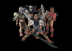 Annihilate Earth with Oderus Urungus and Gwar.