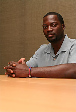Henry Petithomme, a Haitian-American, staged a hunger strike aimed at pushing the U.S. to let the Haitian refugees stay.