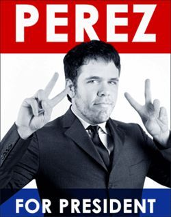 "Perez Hilton: ""The trashtastic Cuban cousin of Paris and Nicky"""