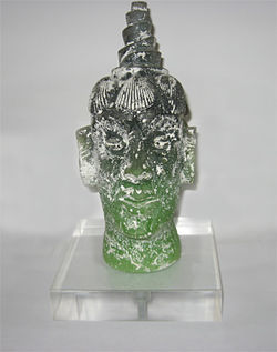 Edouard Duval-Carrié's sculpture of Agoue, Haiti's version of Poseidon: A steal at $20.