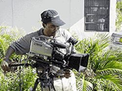 The making of a milestone: Miami poses for the first Haitian-American film