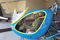 José Méndez spent two years and $55,000 of his savings on building his own jet-engine helicopter.