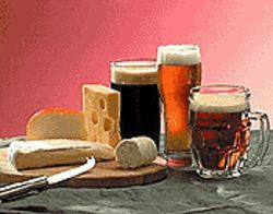 Mmm ... beer -- and cheese!