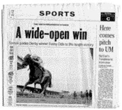 The Herald reports Santos and Funny Cide are winners