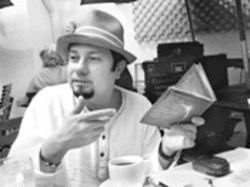 Little Louie Vega explicates Elements of Life over a cup of hot java