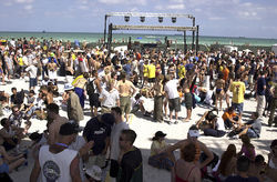 Ultra debuted in 1999 on Miami Beach with a modest setup.