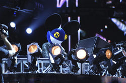 In 2010, Deadmau5 put on an ambitious stage show.