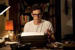 James Franco as Allen Ginsberg in Howl.