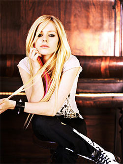 Avril's look doesn't matter, we swear.