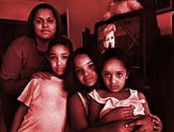 Yaimara Rodriguez and her sister&#039;s children Brian, Maria, and Sonia are once again connected