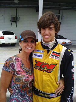Tristan and his mom, Diane, who doubles as his manager and master of finances.