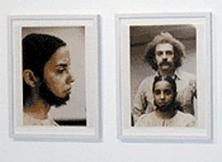 Ana Mendieta's Untitled (Facial Hair Transplant) from 1972