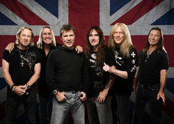 Iron Maiden, minus Eddie the Head