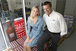 Hoby Buppert and Christina Staalstrom founded Bawls two years before Red Bull arrived.