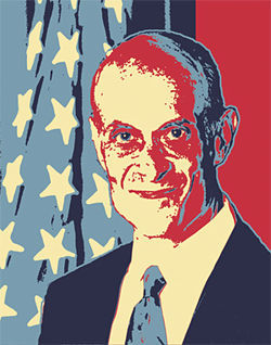Current Department of Homeland Security Secretary Michael Chertoff.