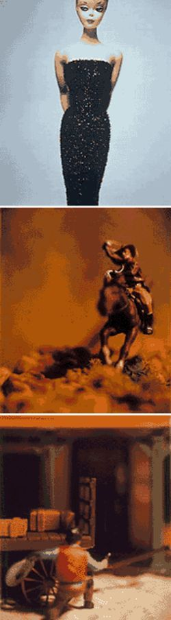 Cowboys, Indians, Barbie, and more: The photographs of David Levinthal