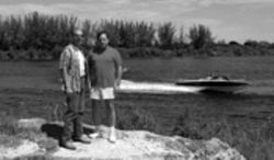 José Perez de Corcho and Marcelo Ali at their Sailboat Cove site