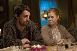 Matthew Goode and Amy Adams
