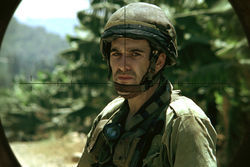 Zohar Strauss as Jamil in Lebanon.