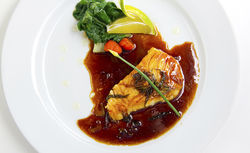 Chilean sea bass. See a photo slide show of Little Lotus.
