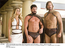 "Carmen Electra, Sean Maguire, and Kevin Sorbo: ""Where did you say that barrel of fish was?"""