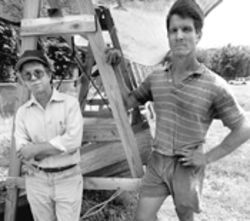 Archaeologists Bob Carr (left) and John Ricisak: Their skill and professionalism succeeded beyond their wildest dreams