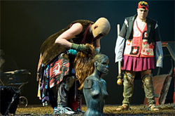 The Beast, a Russian play, tells of thwarted love in 