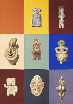 Bhakti Baxter's Untitled (Anthropomorphic Artifacts)