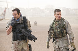 Jason Isaacs and Matt Damon
