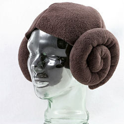 Ansley Bleu-Davies of Los Angeles created Leia Wig.