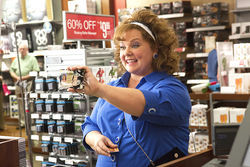 Melissa McCarthy stars in Identity Thief.
